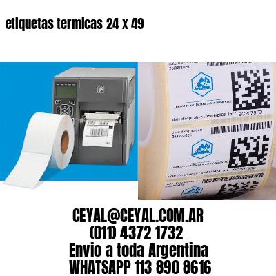 etiquetas termicas 24 x 49