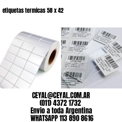 etiquetas termicas 58 x 42