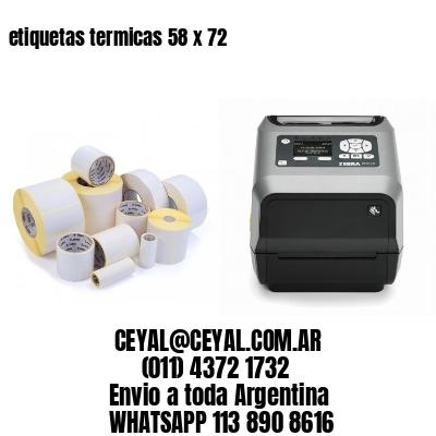 etiquetas termicas 58 x 72
