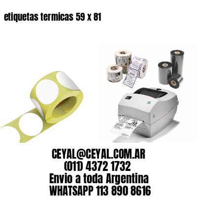 etiquetas termicas 59 x 81