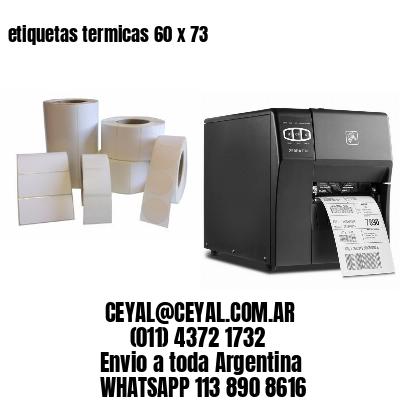 etiquetas termicas 60 x 73