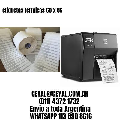 etiquetas termicas 60 x 86