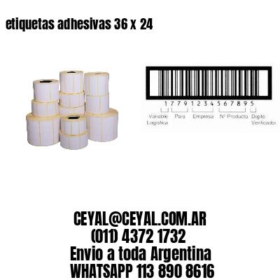 etiquetas adhesivas 36 x 24