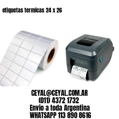etiquetas termicas 24 x 26