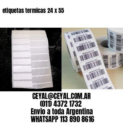 etiquetas termicas 24 x 55
