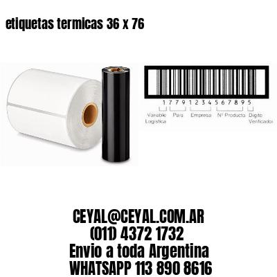 etiquetas termicas 36 x 76