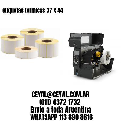 etiquetas termicas 37 x 44